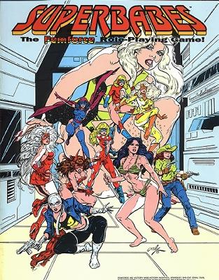 role playing game. The Femforce Role-Playing Game